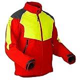 Pfanner Schnittschutz Jacke Baumpfleger Klasse 1, Farbe:rot;Größe:M